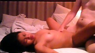 Small Thai girl takes it hard