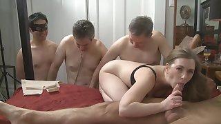 Three bi cucks
