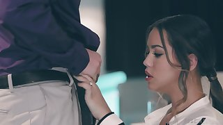 Taboo sex with best girlfriend Alina Lopez in front of her boyfriend