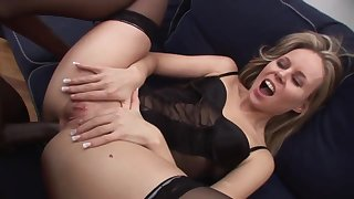Hottie Mature Wants To Try A Big Black Cock