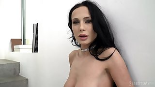 Nicole Love and Kristof Cale like to have anal sex while no one is watching them