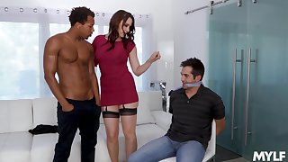 Video of interracial fucking at home with provocative Chanel Preston