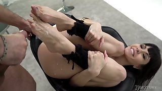 Hot Sasha Colibri has got sexy ass legs and feet and she is an anal freak