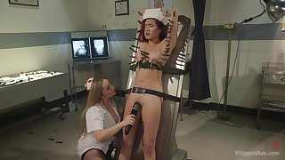 bondage experience and role play is priceless for lesbian Lea Hart