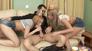 HAPPY BIRTHDAY! AS A PRESENT YOU MAY NAIL TWO PETITE BLOND HAIR BABE YOUNG GIRL