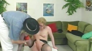 German Mature Pissing